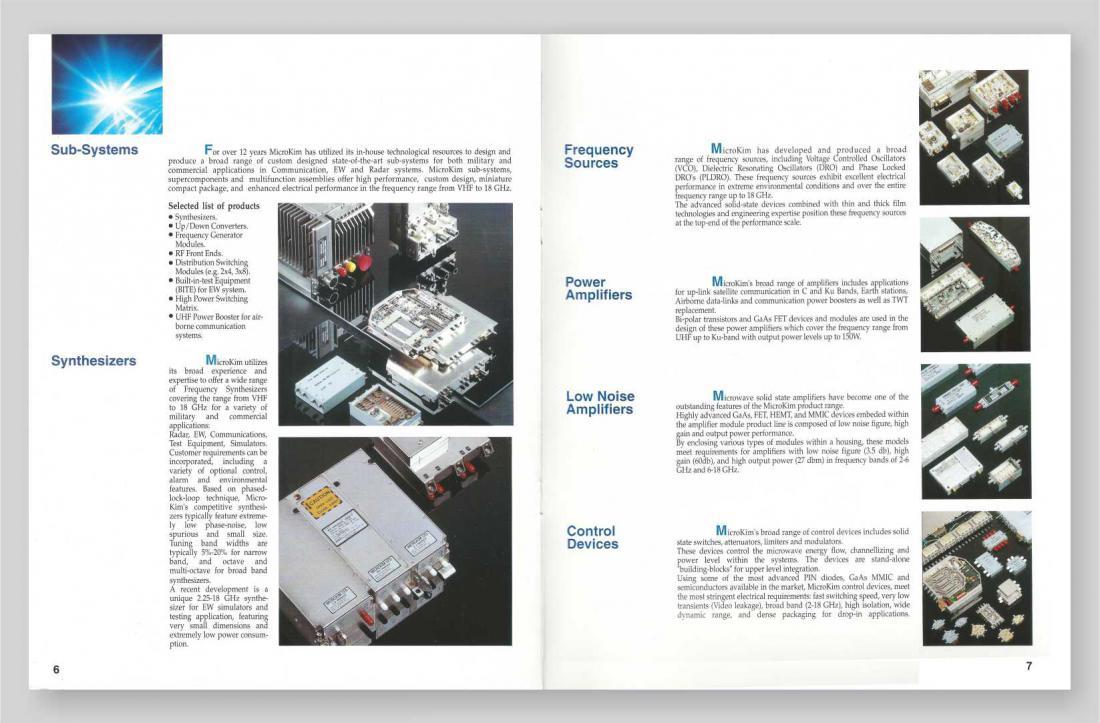 MicroKim RF & Microwave Products